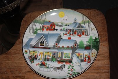 Betsy Christmas Plate