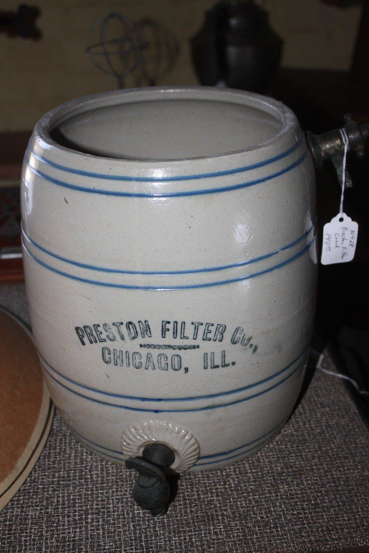 Creston Filter Company Crock