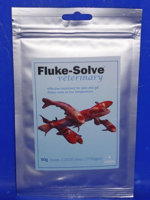 Vetark    Fluke Solve 100G . Gill and Skin Fluke Treatment
