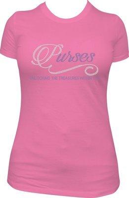 Purses Rhinestone Shirt