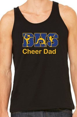 Cheer Dad 2 Vinyl Shirt
