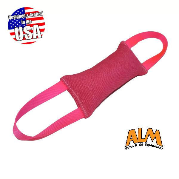 "8"" x 3.5"" Pink Tug with 2 Pink Handles"