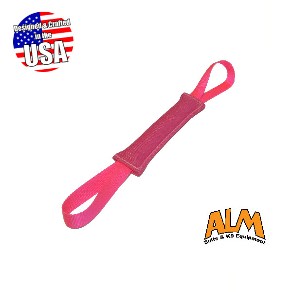 "8"" x 1.5"" Pink Tug with 2 Pink Handles"