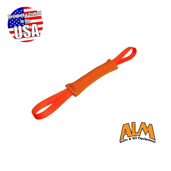 "12"" x 1.5"" Orange Tug with 2 Orange Handles"