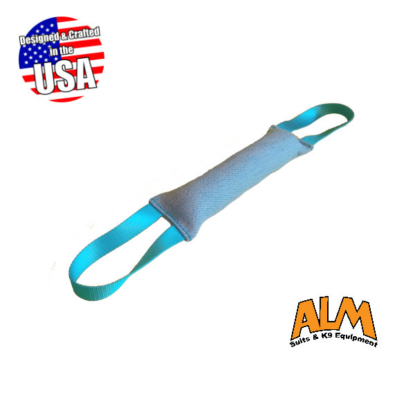 "12"" x 2.5"" Baby Blue Tug with 2 Baby Blue Handles"