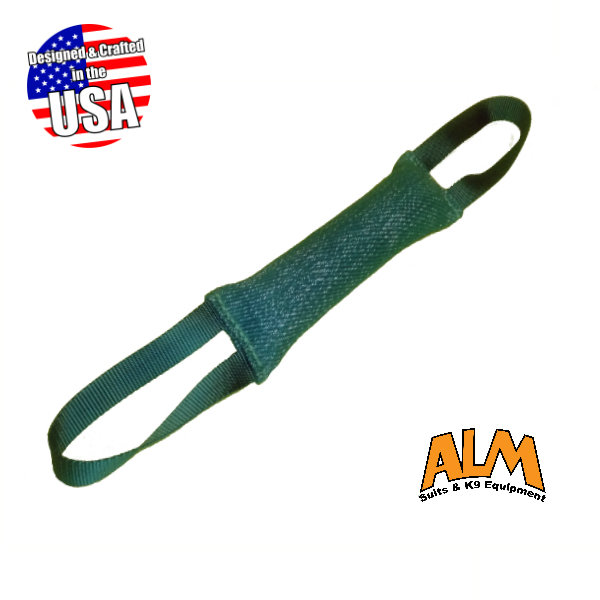 """12"""" x 2.5"""" Green Tug with 2 Green Handles"""