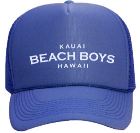 KAUAI BEACH BOYS TRUCKER HAT 00006