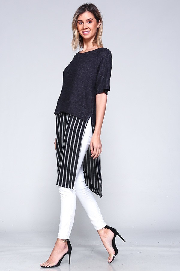 Serena Striped Top