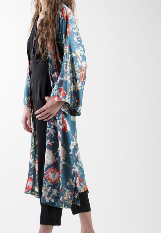 Botanical Gardens Kimono UPCD725-BOTANICALGARDENS