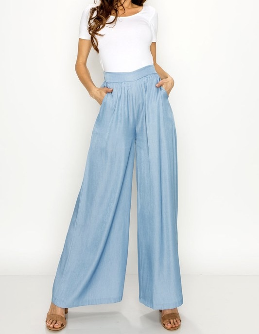 Walk It Wide Leg Denim