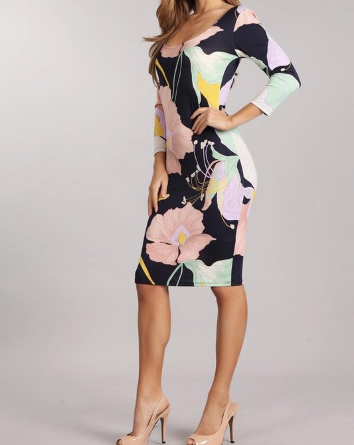 Blush & Blossom Dress