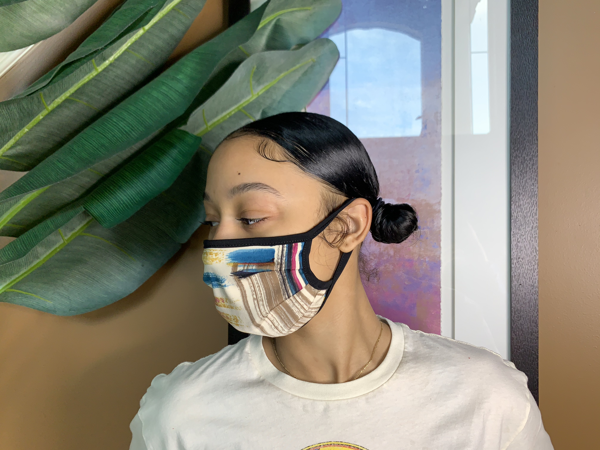 Covered Reusable Face Mask