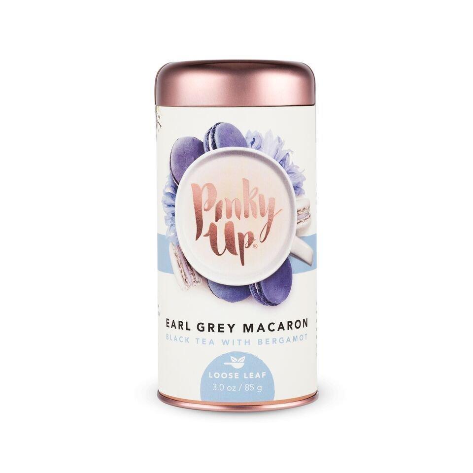 Pinky Up Earl Grey Macaron Loose Leaf Tea UPHG001-PU-EGM
