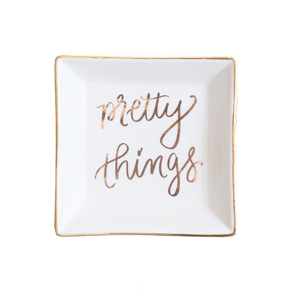 Pretty Things Jewelry Dish UPHG001-SWDJD-PT