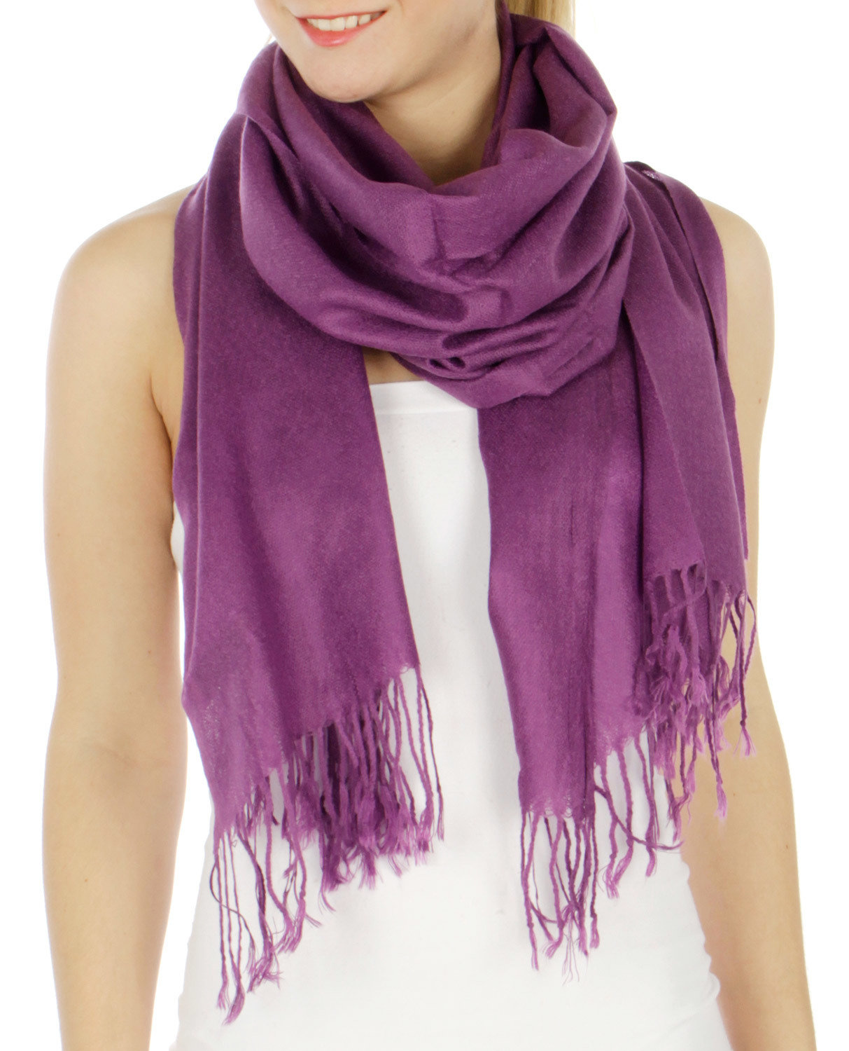Pashmina Solid Scarf UPAC001-PSS