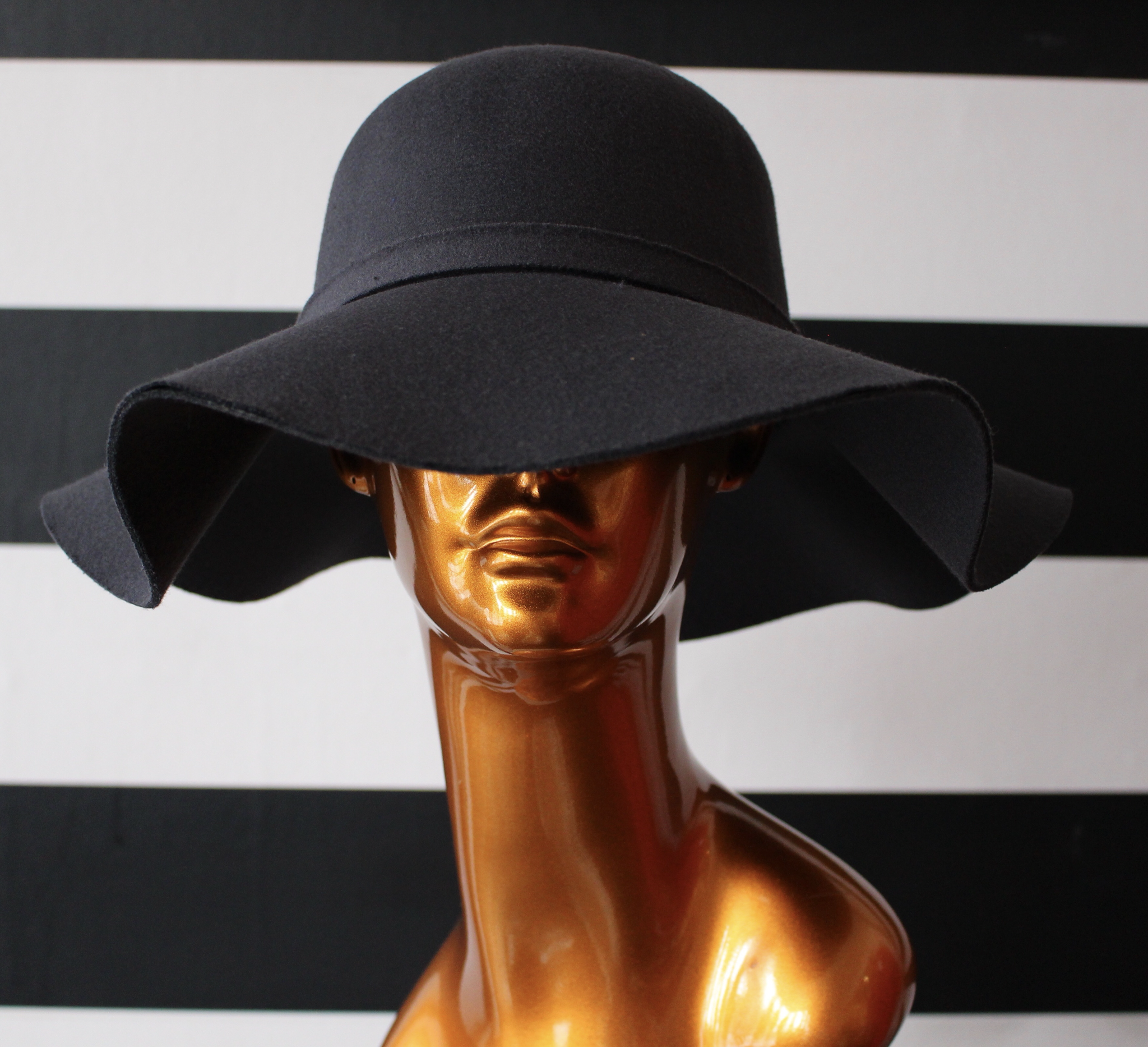 Chloe Floppy Hat - Charcoal UPHT001-Chloe-Charcoal