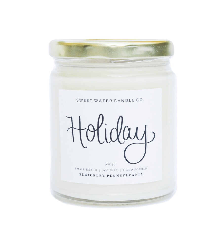 "Sweet Water Candle Co. ""Holiday"" UPHG001-SWC-H"