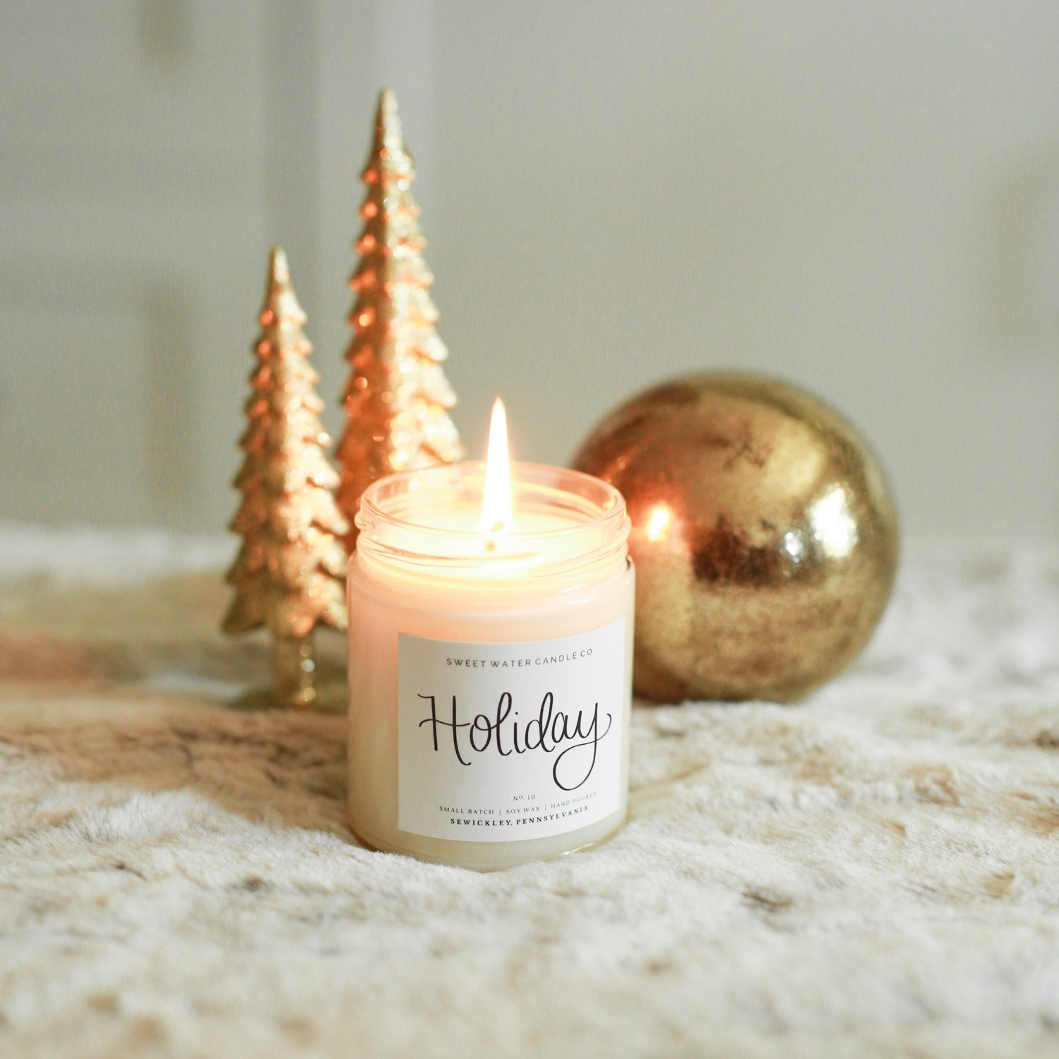 "Sweet Water Candle Co. ""Holiday"""