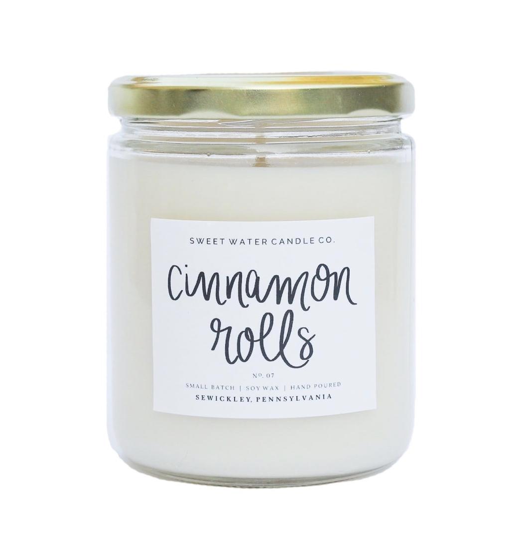"""Sweet Water Candle Co. """"Cinnamon Rolls"""" UPHG001-SWC-CR"""