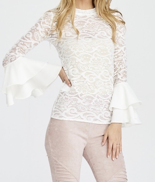 She's A Diva Lace Top UPSH532-DIVA