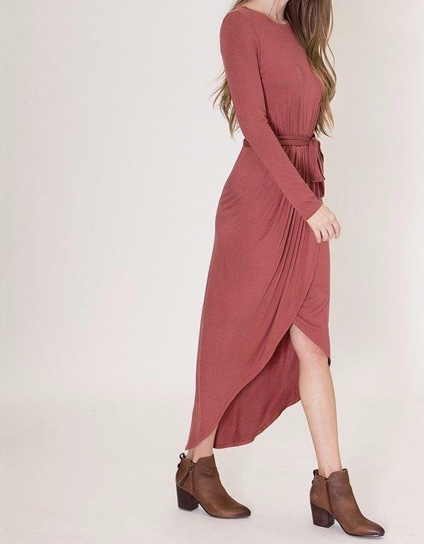 Malinda Dress-Side
