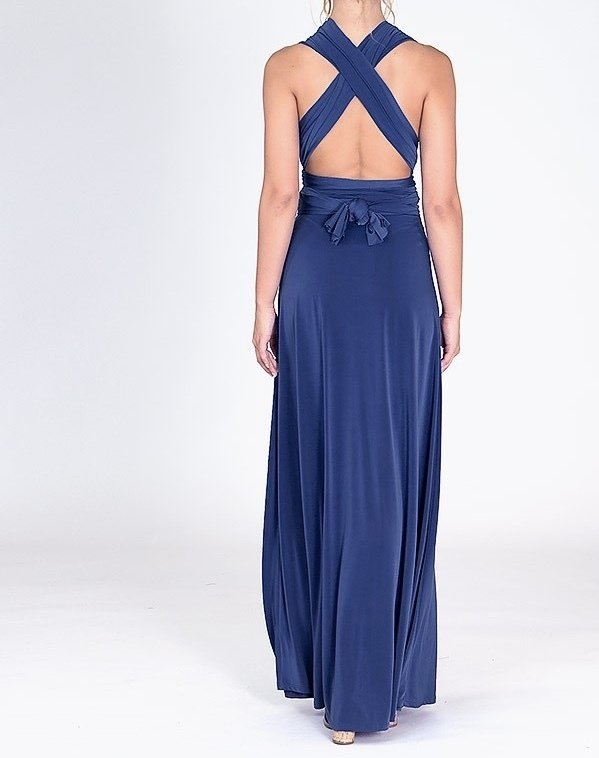 Infinity & Beyond Wrap Dress-Back 2