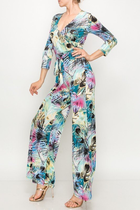 Miami Nights Jumpsuit-Side