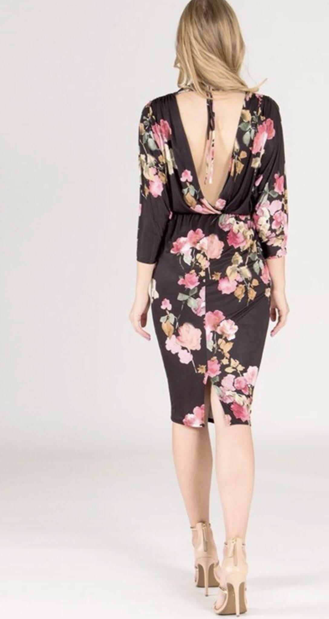 Bloomi Dress-Back