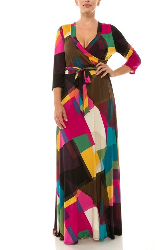That's You Girl Maxi Dress - Fuchsia UPDR625-THATSYOUGIRL-FUCHSIA