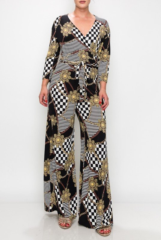 Excuse Me Miss - Checkered UPJS626-EXCUSEMEMISS-CHECKERED