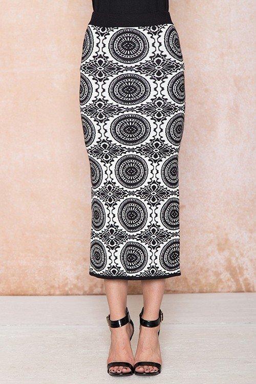 Samara Knit Skirt UPSK669-SAMARA