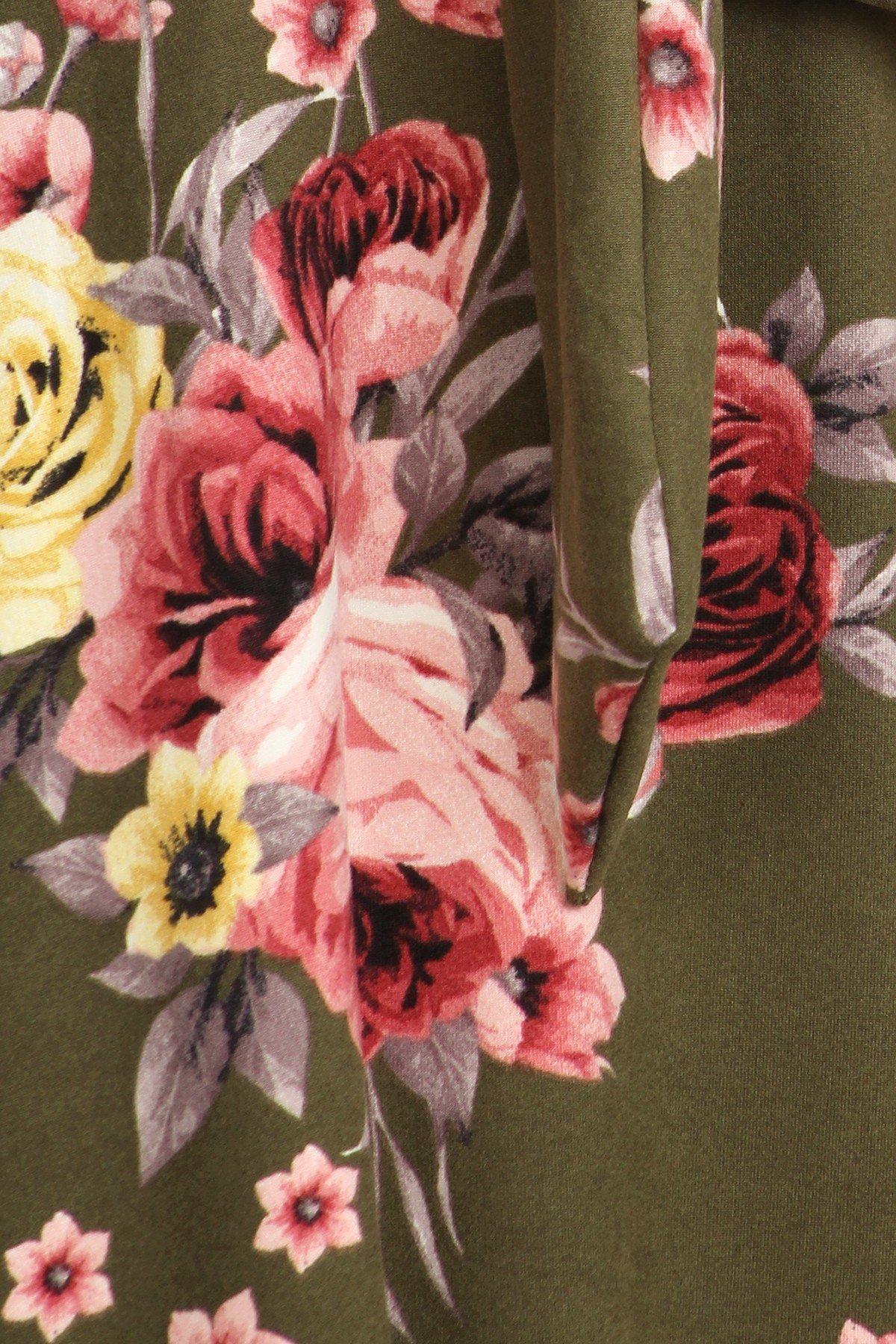 Floral Swing Dress Print