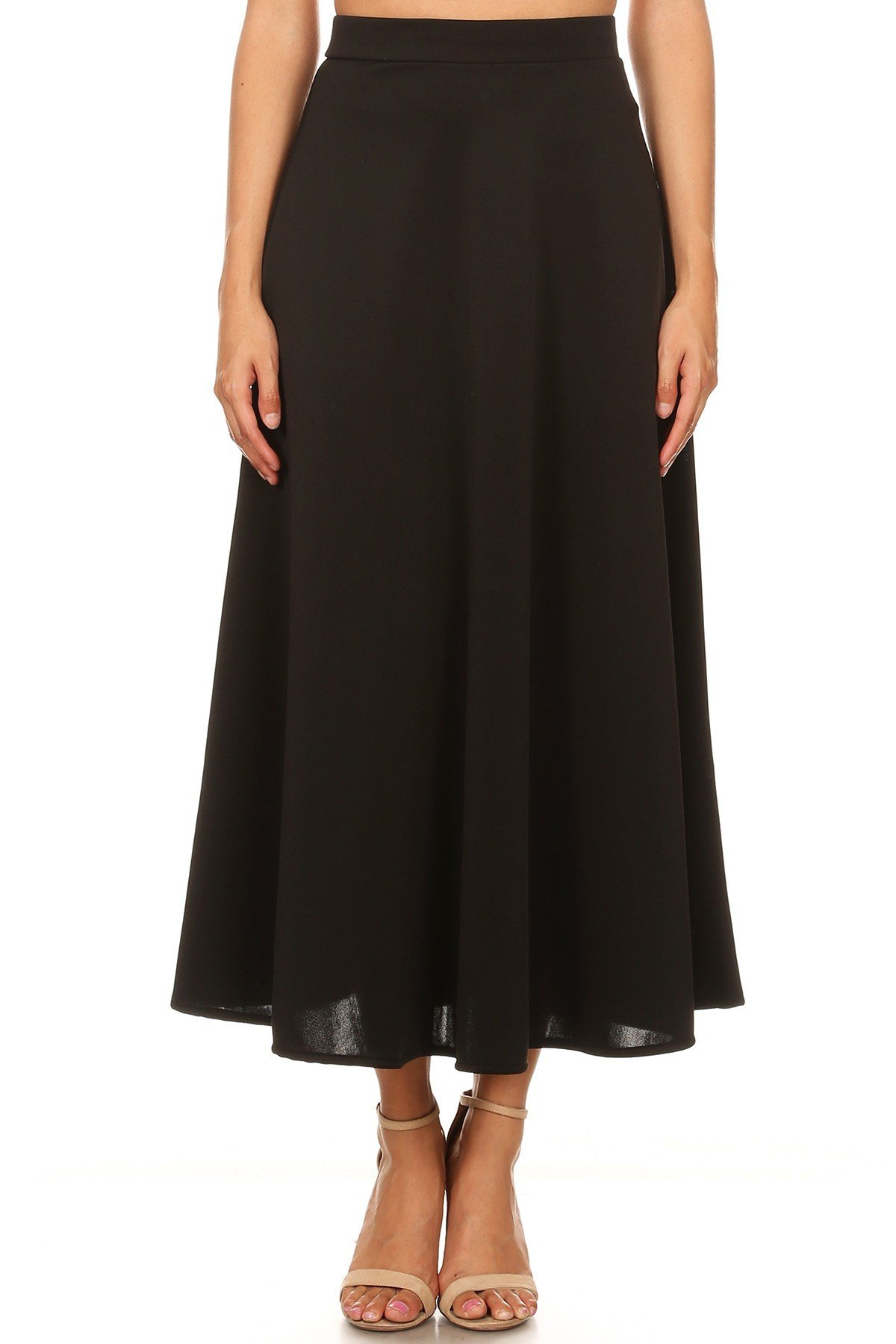 Swing & Sway Skirt Black Front View