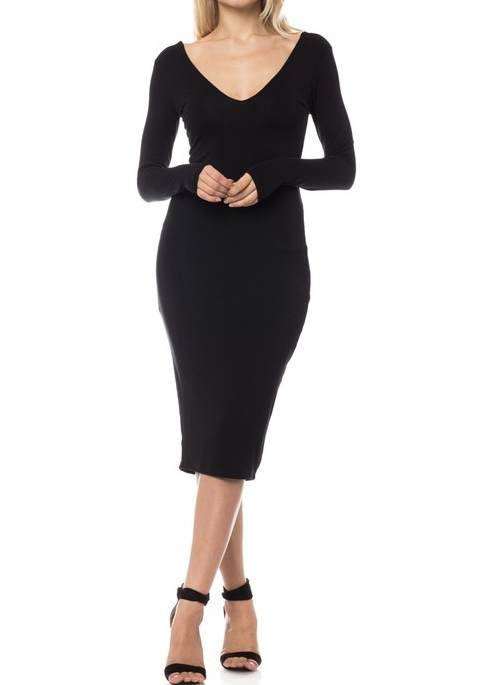 LaDonna Midi Dress UPDR675-LADONNA