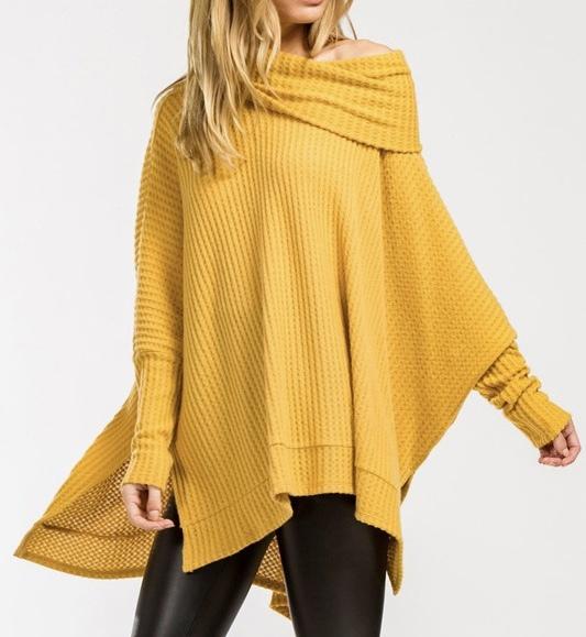 Sunnyside Oversized Sweater UPSW687-SUNNYSIDE