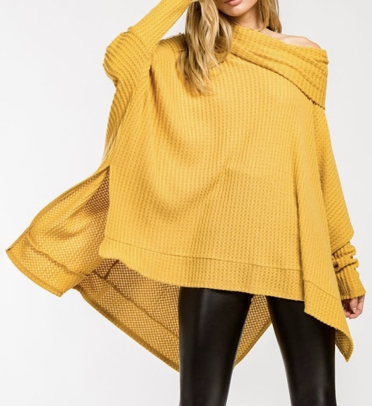 Sunnyside Oversized Sweater Front View