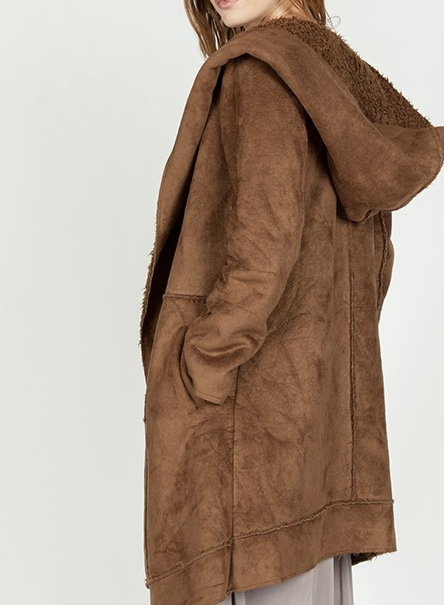 St. Cloud Coat Brown Back View