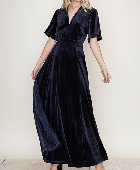 Midnight Dreams Maxi Dress UPSH654-MIDNIGHTDREAMS