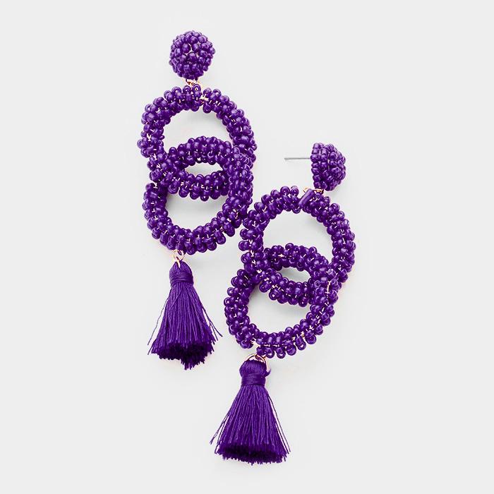 Nari Tassel Earrings UPJL0001-NARI