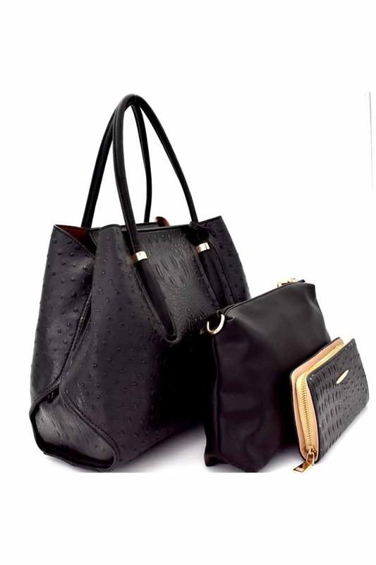 Rosa Tote Bag Black