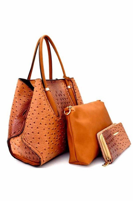 Rosa Tote Bag Brown