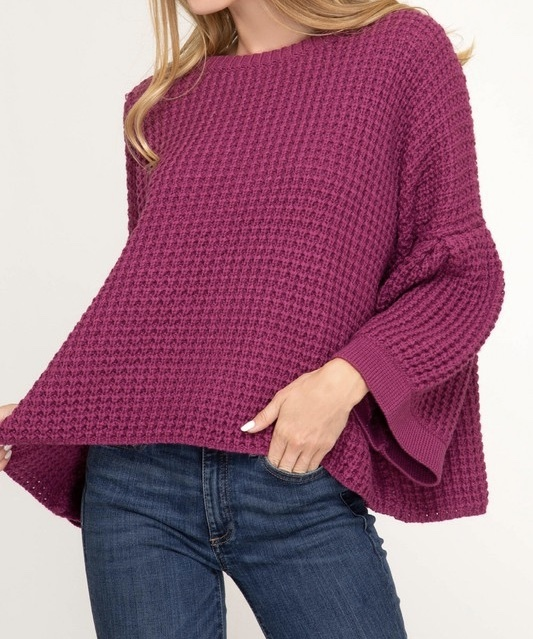 Berry Lush Sweater UPSW694-BERRYLUSH