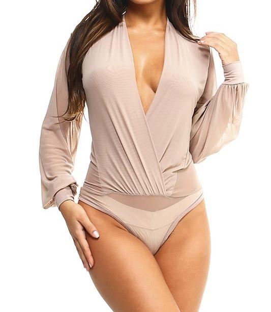 Pearla Sheer Bodysuit UPBS679-PEARLA