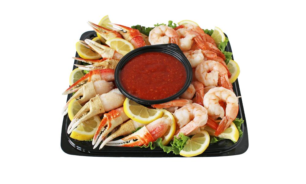 Snow Crab Cocktail Claw & Shrimp Cocktail Platter 092A007-6929