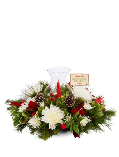 Glowing Holiday Centerpiece 030A69-6401