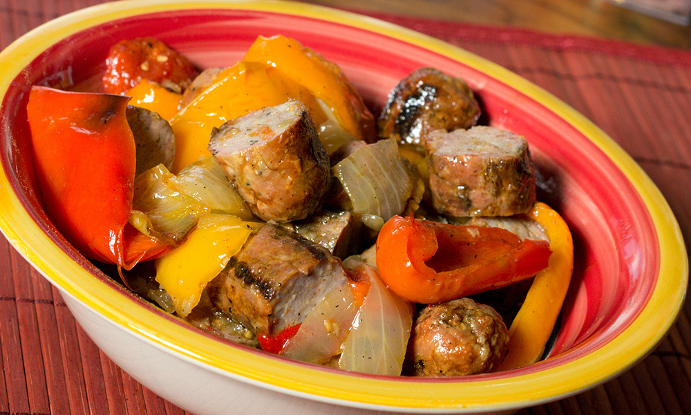 Sausage & Peppers 063A003-6802