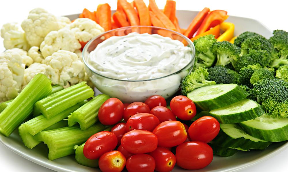Vegetable Platter 082A054