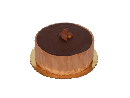 Chocolate Peanut Butter Mousse Cake 051A510