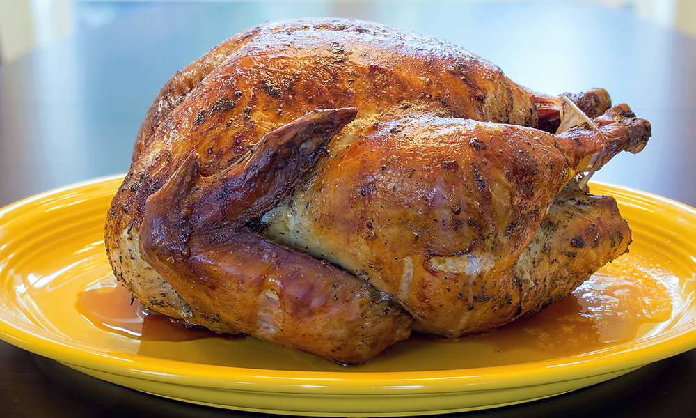 Oven Roasted Whole Turkey