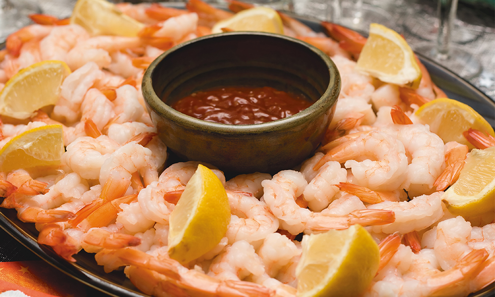 Adams Large Shrimp Platter 093A001